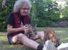 Brian May y su amor por los animales salvajes