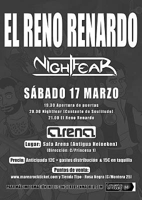 Reno Renardo NightFear Madrid