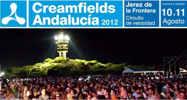 Creamfields Andalucía 2012, nuevas bandas confirmadas
