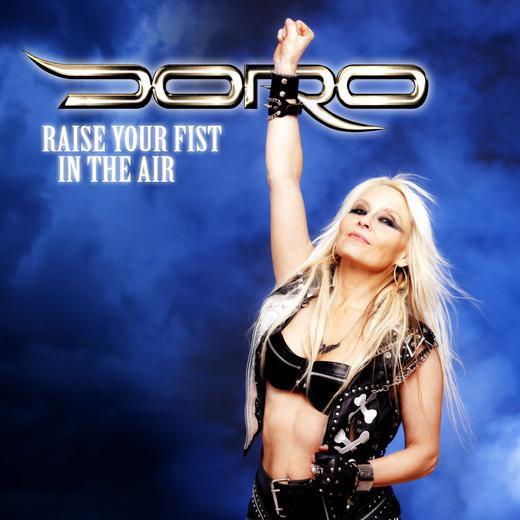 Doro Raise your fist in the air portada cover ep