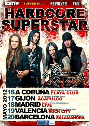Hardcore Superstar, de gira por la Península la semana que viene