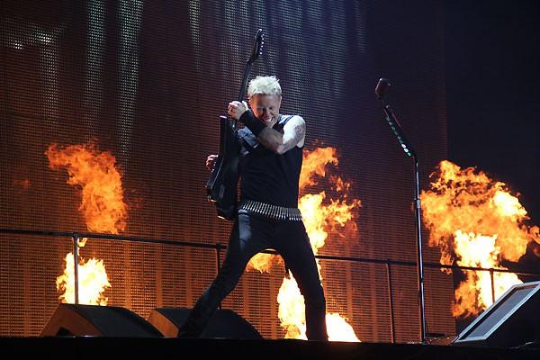 Metallica Sonisphere España Getafe 2012 James Hetfield