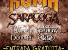 Rock Arena, festival gratuito de heavy metal en Alicante, con Koma, Saratoga, Centinela y más