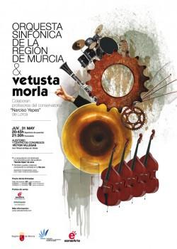 Vetusta Morla, concierto benéfico y sinfónico en Murcia