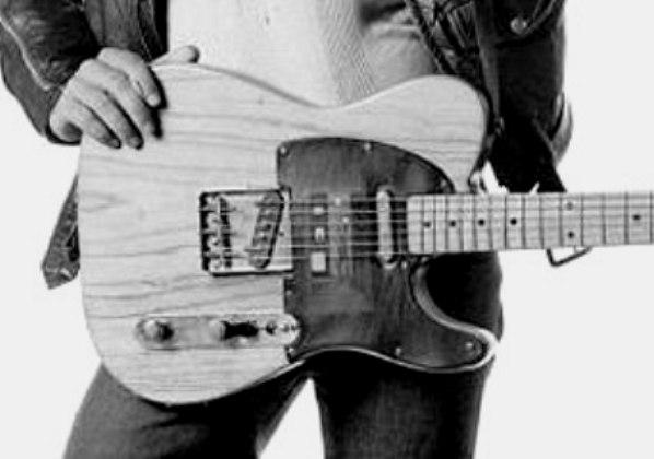 Bruce Springsteen, imagen escondida en la portada de Born to run