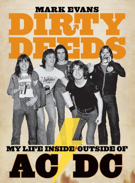 Mark Evans promociona su libro Dirty Deeds: My Life Inside/Outside AC/DC