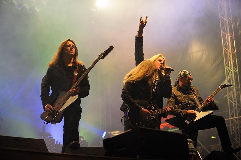Saxon, gran comienzo de su gira europea, en julio en España