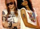 Slash no habla con Axl desde 1996