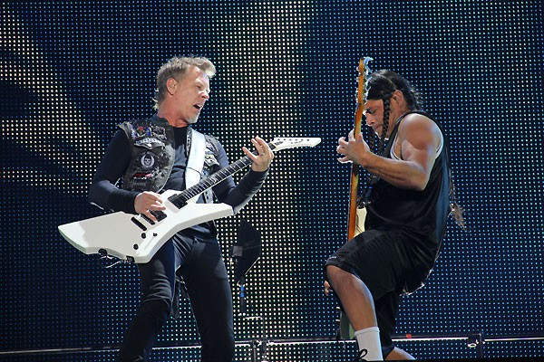 Metallica Sonisphere Madrid Getafe directo James Hetfield Robert Trujillo