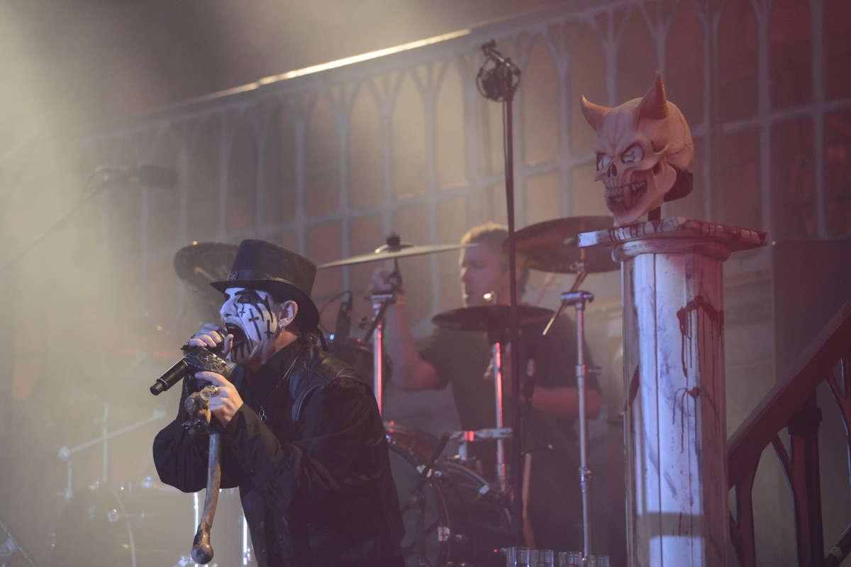 Dave Mustaine y su veto a King Diamond en el Gigantour 2012