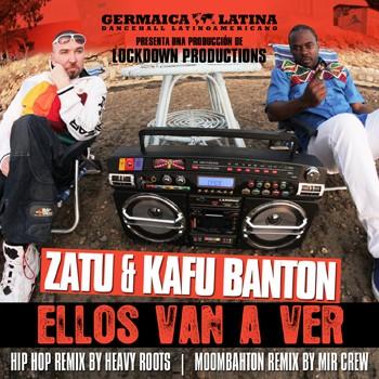 Ellos van a ver remix maxi portada cover Zatu SFDK Kafu Banton