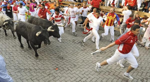 San Fermín toros