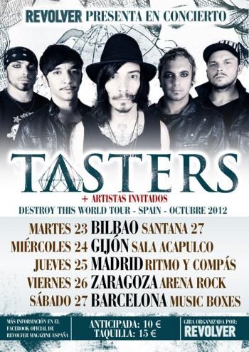 Tasters cartel gira España