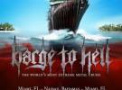 Barge to Hell 2012, crucero metálico en diciembre