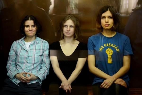 Pussy Riot anuncian un proyecto por los derechos de los presos