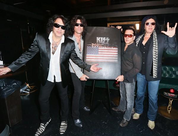 KISS, elegidos por los fans para entrar en el R'n'R Hall of Fame