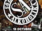 Soziedad Alkoholika visitará Granada, Cartagena y Cuenca en octubre
