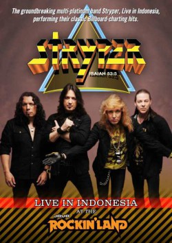 "Stryper editan ""Live In Indonesia At Java Rockin' Land"" en octubre"