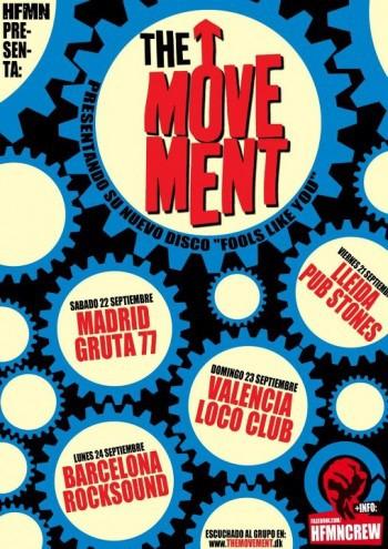 The Movement cartel gira España