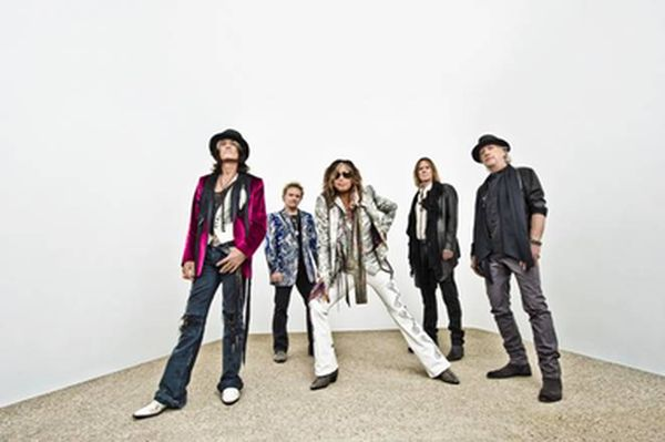 Aerosmith, grabando una nueva canción