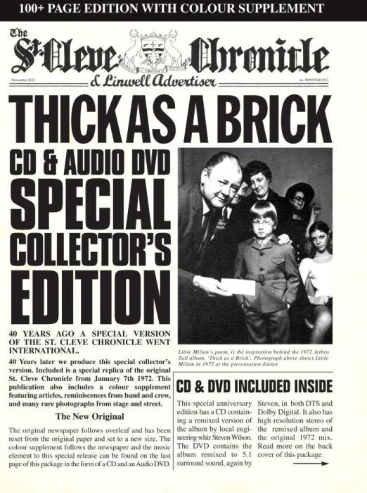 """Ian Anderson: """"Thick as a brick fue una irónica respuesta a los críticos musicales"""""""