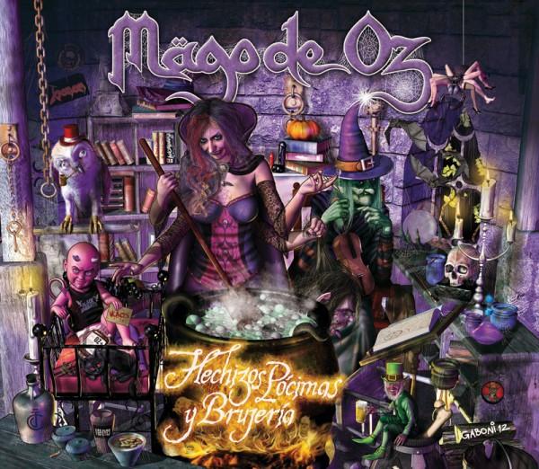 Mägo de Oz Hechizos, pócimas y brujería portada