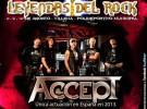 Accept confirmados para el Leyendas del Rock 2013