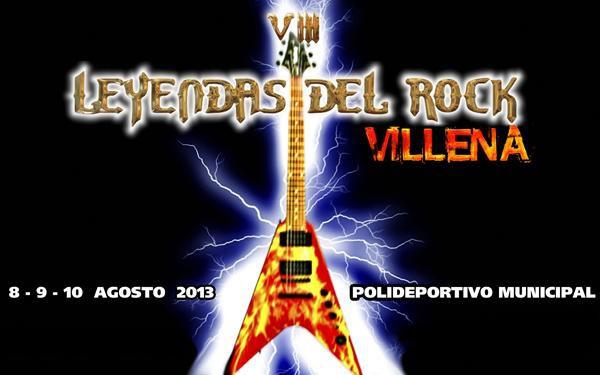 Leyendas del Rock 2013 anuncia las primeras confirmaciones, encabezadas por Sabaton