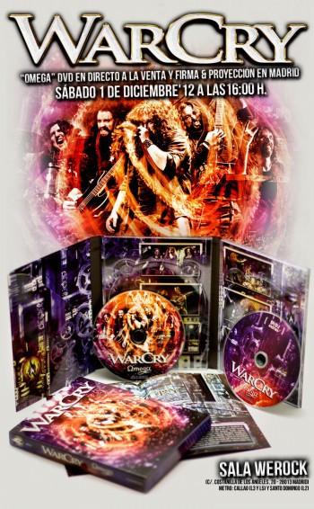 WarCry publican el DVD 'Omega' este sábado y nos muestran dos canciones