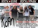 Korn tocarán con Brian Welch en dos festivales de 2013