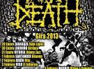 Napalm Death, extensa gira por España en 2013