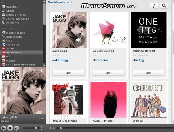 Mondo Sonoro editan la primera App española para Spotify