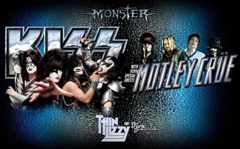 Kiss, Motley Crüe y Thin Lizzy, gira por Australia en mayo
