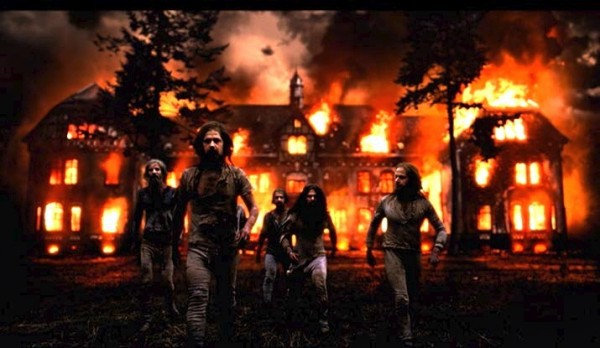Rammstein Mein Herzt brennt fotograma videoclip