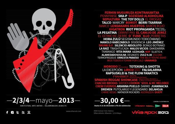 Viña Rock 2013 cartel completo final