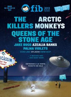Arctic Monkeys serán cabeza de cartel del FIB 2013