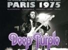 "Deep Purple remasterizan ""Live in Paris 1975"""