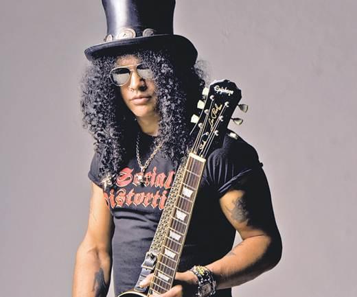 Slash, harto de que le pregunten por la reunión de Guns n´Roses
