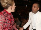 Adele no se peleó con Chris Brown en los Grammy