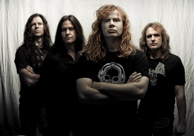 """Megadeth -Ideas """"muy heavies"""" para su próximo disco"""