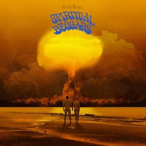 Spiritual Beggars, portada de Earth Blues, su nuevo disco
