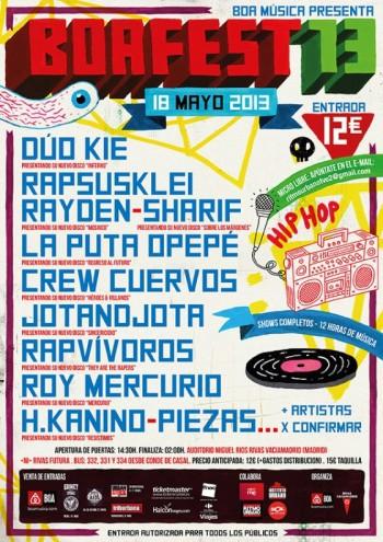 Boafest 2013 cartel