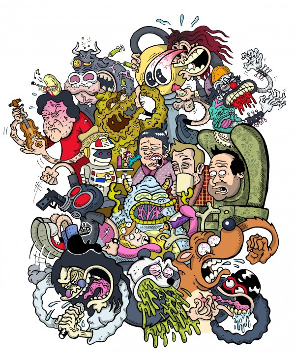 Mundo Idiota 2013 humor dibujo