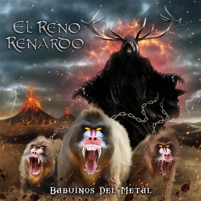 El Reno Renardo Babuínos del metal portada