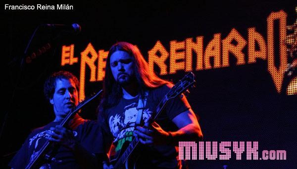 El Reno Renardo directo Arena Madrid Francisco Reina Miusyk