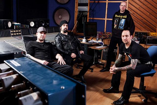 Volbeat promo estudio