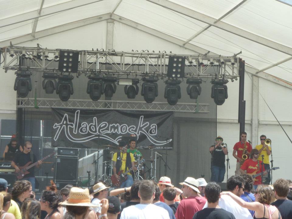 Alademoska ya preparan su nuevo disco