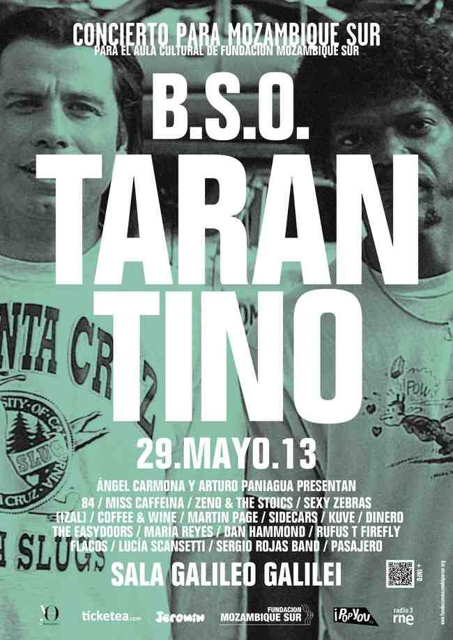 Solidario homenaje a Tarantino por parte del mejor pop nacional