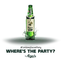 Carlsberg-Secret-Party