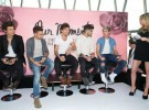 One Direction, componiendo y preparando el lanzamiento de un perfume